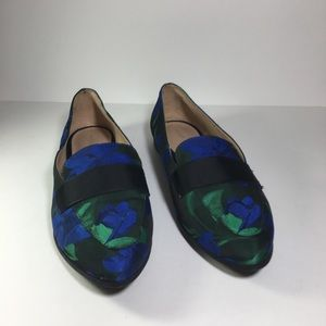 Kelly & katie Floral Dotty Loafers Size 9
